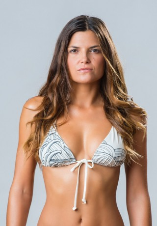 Belly Button Triangle Bikini Top