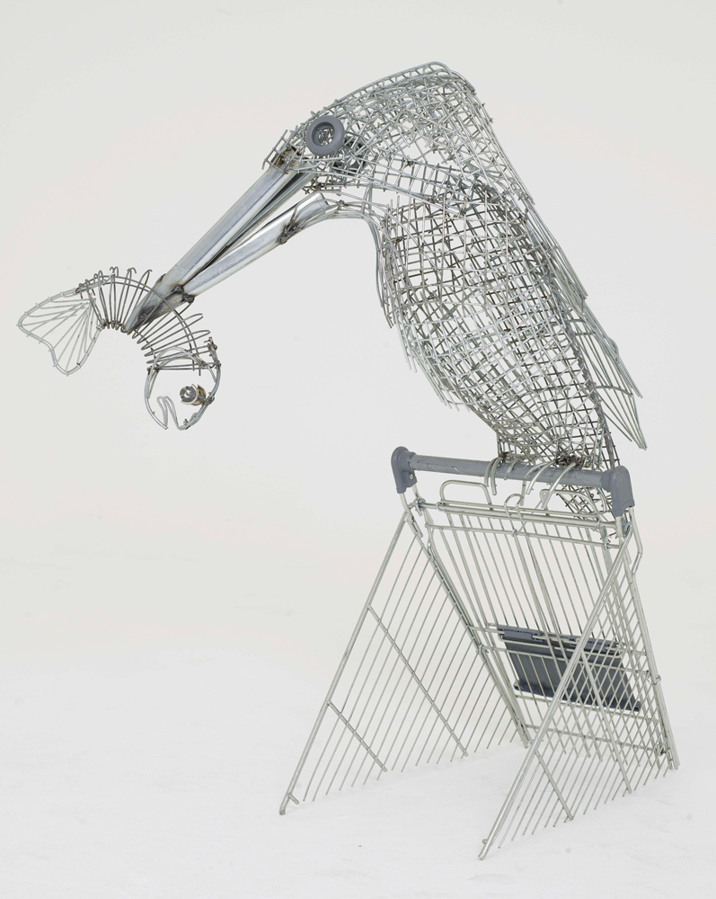 Shopping Trolley Art